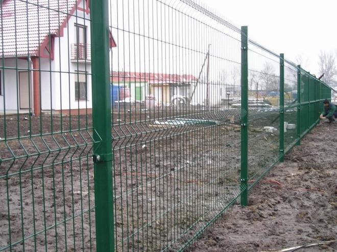Панельный секционный забор
