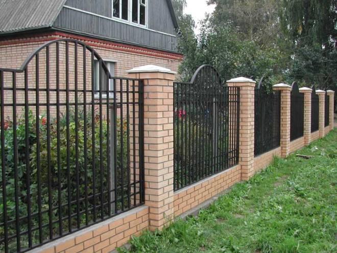 Сварной забор из металла