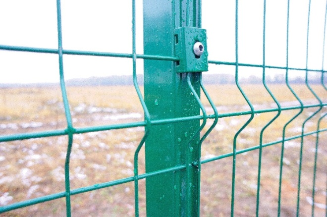 Забор из сварной сетки оцинкованный с ПВХ покрытием