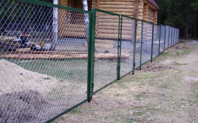 Рамочный секционный забор