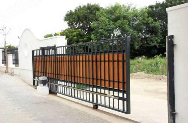 Откатные выдвижные ворота