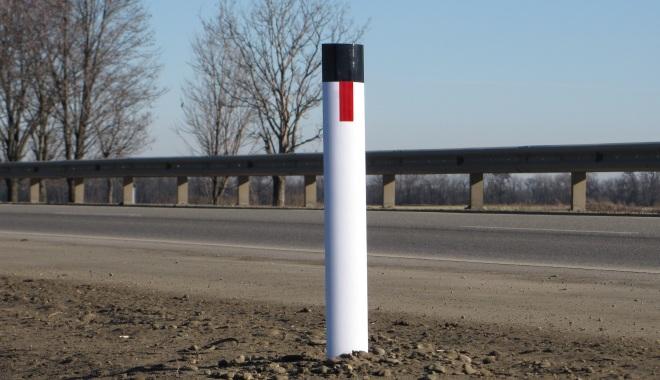 Дорожный сигнальный столбик