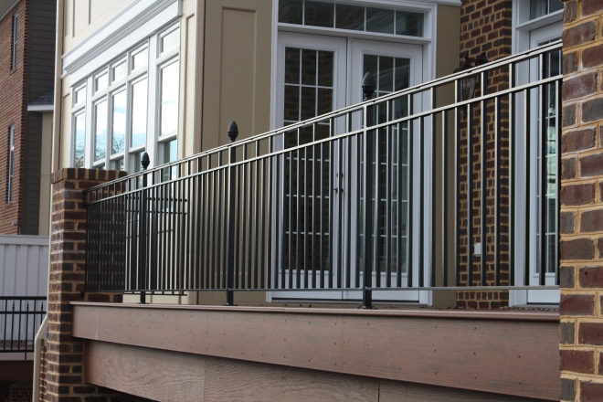 Ограждение на балконе