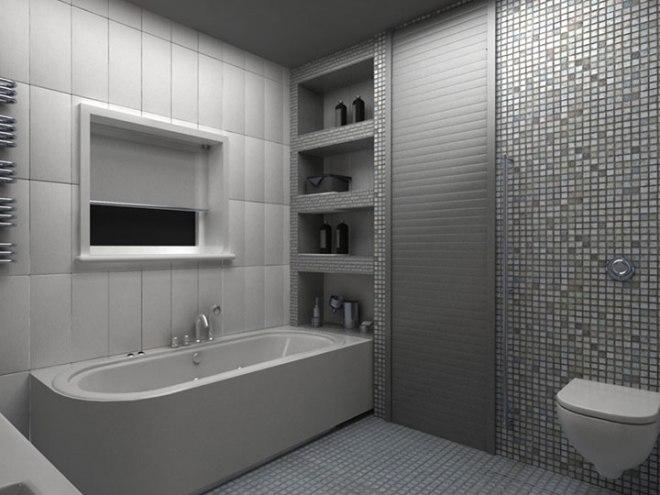 Роллеты в ванной