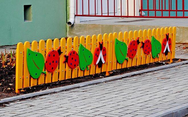 Ограждение детских площадок