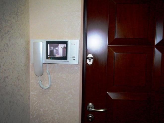 Дверной звонок с камерой