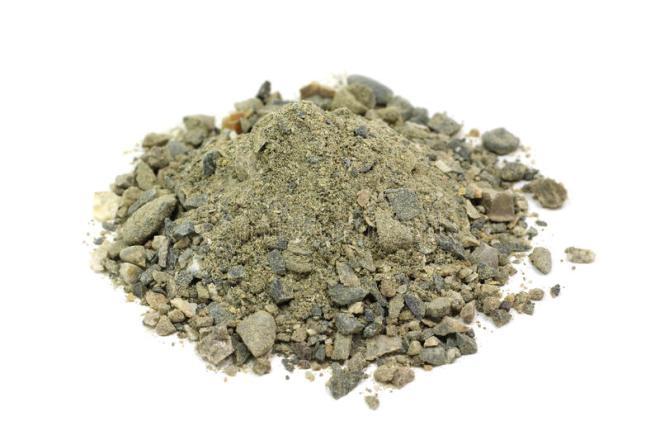 Смесь песка и гравия