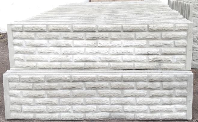 Железобетонные плиты заборные