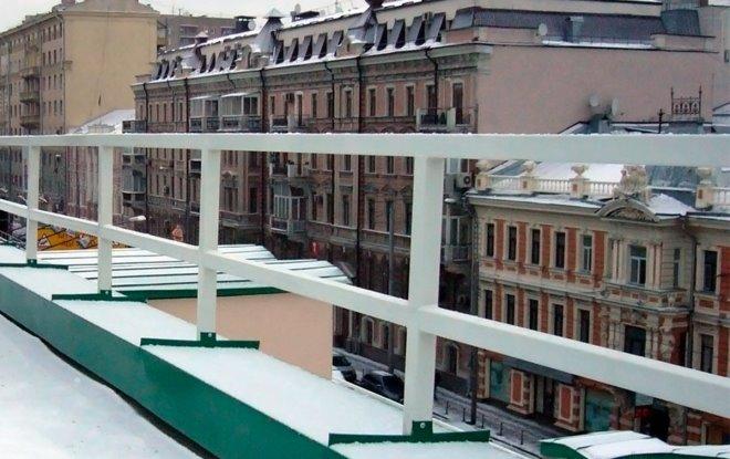 Леерные ограждения на балкон