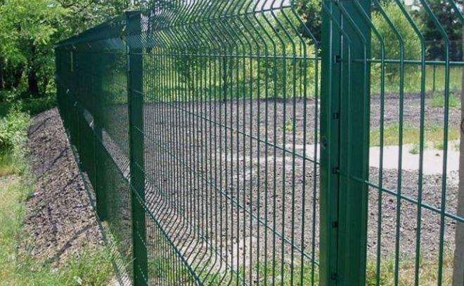 Сетчатый сварной забор