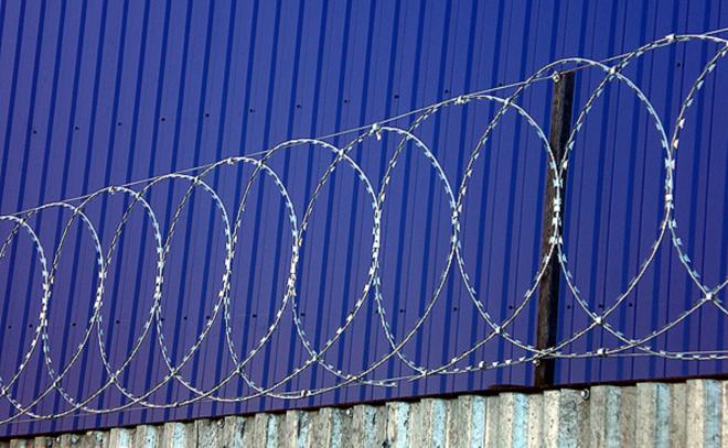 Плоские барьеры из колючей проволоки