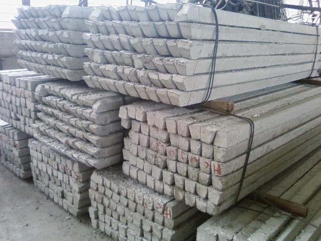 Столбы заборные из бетона