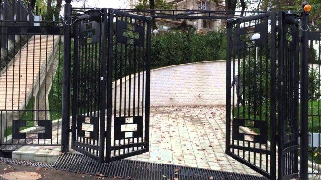 Ворота гармошка