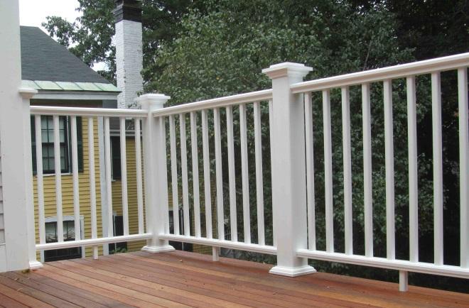Балконное ограждение из дерева